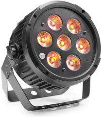 STAGG King Par with 7 x 8-watt RGBWAUV (6 in 1) LED