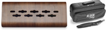 STAGG Laminated bended wood support for effects pedals, mini