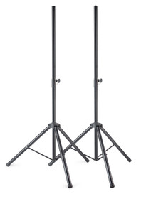 STAGG Metal speaker stand pair with folding legs