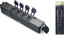 STAGG X-Series Neutrik SpeakON 8-pin to 4x 4-pin Distributor Distro box