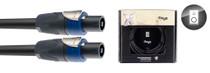 STAGG X-Series Professional Speaker Cable - SpeakON / Speak