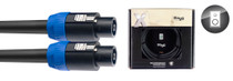 STAGG X-Series Professional Speaker Cable - SpeakON / Speak 20m