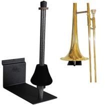 String Swing Trombone Holder FOR SLATWALL or screw onto regular wall Black