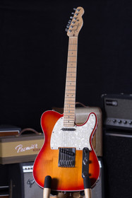 2008 Fender American Deluxe Telecaster Cherry Sunburst Maple Neck