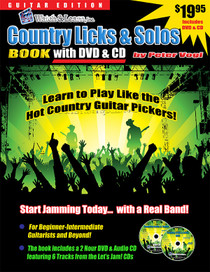 Watch & Learn Country licks and solos book
