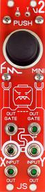 Blue Lantern Mini FM Joystick Eurorack X Y Controller Module