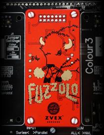 Zvex Fuzzolo colour cv DIYre Colour Palette Module