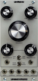Pittsburgh Modular Filter VCF analog state variable Eurorack Module