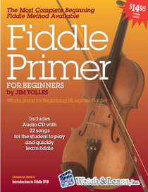 Beginning Fiddle Book CD Instruction Learn Music Lesson Watch and Learn