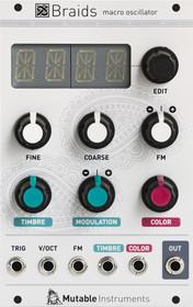 Mutable Instruments Braids Synthesizer Eurorack Module