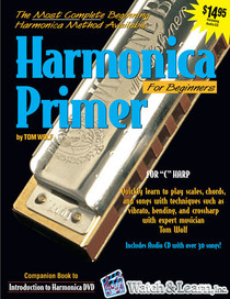 Beginning Harmonica Harp Book CD Instruction Lessons Watch and Learn
