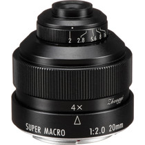 Mitakon Zhongyi Creator 20mm f/2 4.5x Super Macro Lens for Canon EF Full Frame