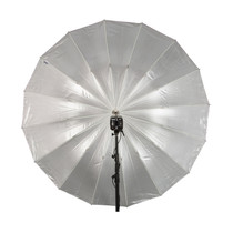 "Paul C Buff 51"" Soft Silver PLM™ Umbrella"