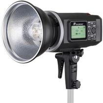 Flashpoint RL-600B Battery powered 600ws Monolight strobe light Bowens mount w 2 batteries and 2,4ghz wireless trigger