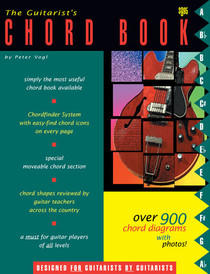 Guitarist's Chord Finder System Book for Guitar Chords Watch & Learn 900 chords