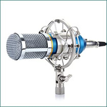 Floureon BM-800 Condenser Mocrophone w Shock Mount
