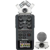 Zoom H6 Handy Handheld Portable Field Recorder w/ Interchangeable Mics
