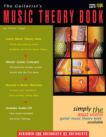 Guitarist's Music Theory Book and Audio CD for Guitar Watch and Learn Peter Vogl