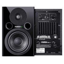 "Pair Fostex PM0.4 4"" Powered Studio Monitor Speakers"