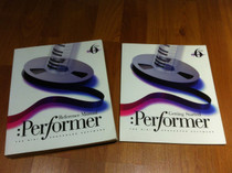 Performer 6 User Reference Manual Set MOTU Mark of the Unicorn 544 pages