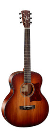 Cort Little CJ Mini Jumbo Acoustic-Electric Travel Guitar Solid Blackwood Top Blackwood Back and Sides Fishman Presys