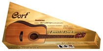 Cort Earth Series Solid Top Acoustic Guitar Pack w gig bag strap tuner picks and DVD