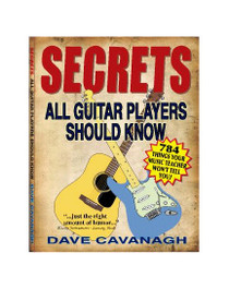 Guitar Secrets Every Player Should Know lesson book tips instruction