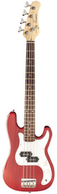 Jay Turser USA P-Bass 3/4 Style Trans Red