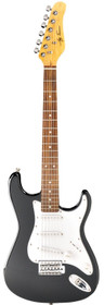 Jay Turser USA Electric Guitar Jr. Double Cutaway Black 3/4 size child 36""