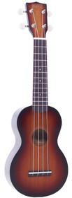 Mahalo Ukuleles Java 3 Tone Sunburst Soprano ukulele