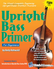 How to Play Upright Bass Primer Instructional Book double standup Watch & Learn
