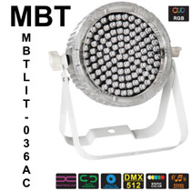 MBT MAGIKPAR PAR56CLEAR Clear Housing RGB Led Uplight or Downlight