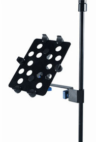 Quik Lok iPad holder for side connection mic & music stands
