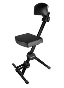 Quik Lok Musicians stool w/ backrest