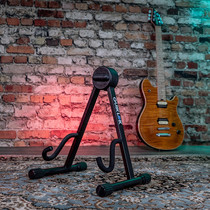 Quik Lok Guitar Stand - short A frame Black for electric guitars
