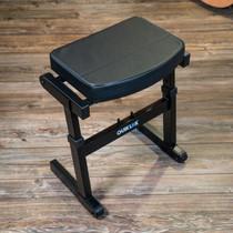 Quik Lok Rapid Set-up Musicians Seat 7Height Positions folding guitar stool