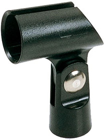 Quik Lok Microphone nylon clip holder Clamp-on Boom Arm Attachment