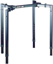 Quik Lok Mixer Stand Spider Style portable fully-adjustable Dj Rack stand
