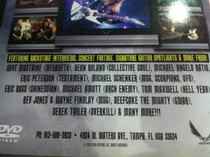 Dean Guitars In Store Dealer DVD 55 min.  Dave Mustaine Schenker Batio Gwar etc.