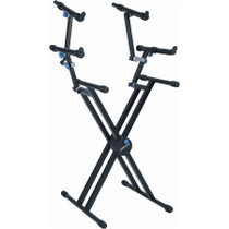 Quik Lok  double braced 3 tier keyboard  stand