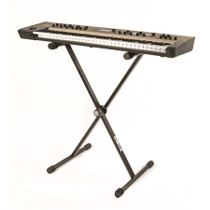 Quik Lok Single-Tier Single-Brace X Keyboard Stand