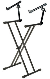 Quik Lok Keyboard Stand double tier 2x brace
