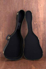 "Acoustic Guitar Case up to 42"" long Dreadnaught Martin D-28 Yamaha F series etc."