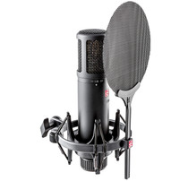 sE Electronics SE2200 Large DIaphragm Condenser Mic Cardioid w/Shockmount and Filter