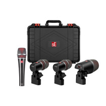 sE Electronics V Pack US Venue 4 Drum Mic Kit w/Case and clamps feat V7 V Kick and 2 V Beat