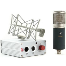 sE Electronics Z5600A II Large DIaphragm Tube Condenser Microphone w/9 Patterns Case Shockmount and Power supply