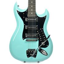 Hagstrom USA Retroscape H3 Electric Guitar AGED SKY BLUE HIII-ABE vintage retro stule