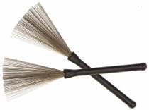 Adam WIRE BRUSH Drum Brushes - Plain end sticks T52