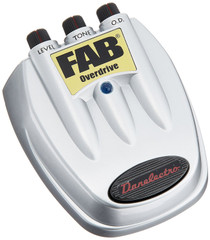 Danelectro D-2 Fab Overdrive Guitar Effects Pedal Distortion D2