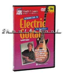Intro to Electric Guitar lesson DVD Video Beginner learn play Watch and Learn